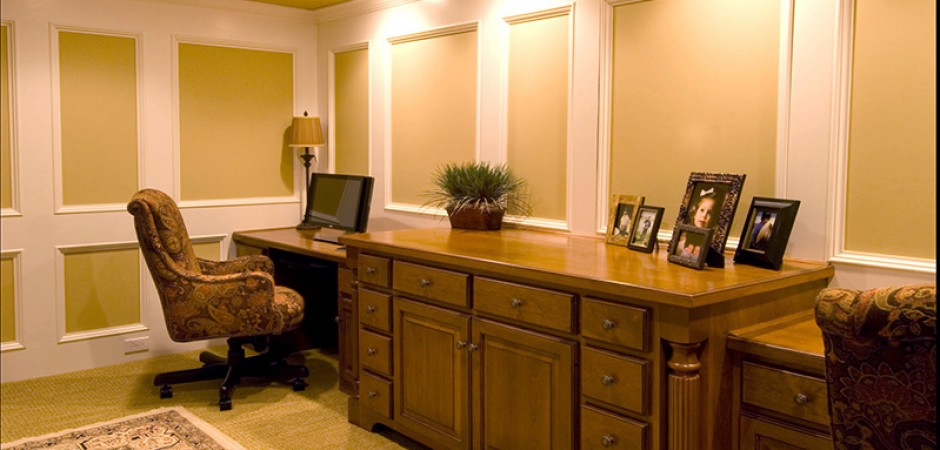 Basement-Office-Remodeled-Louisville-KY